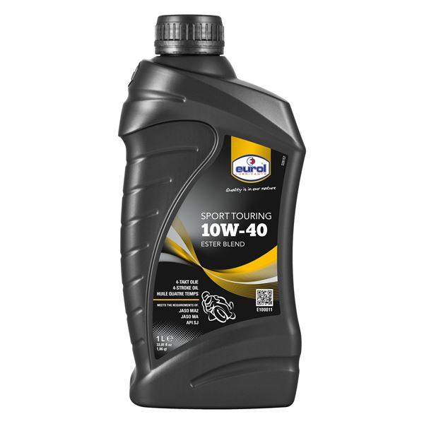 EUROL Sport touring 10W-40 1 liter 10W-40