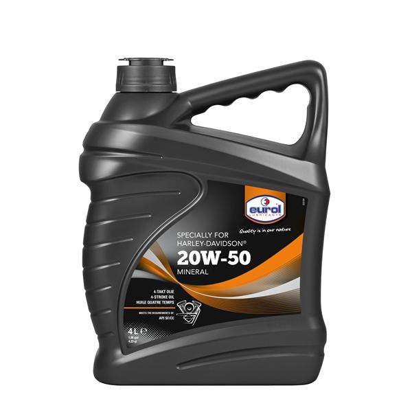 EUROL HD 20W-50 4 litres Harley 20W-50
