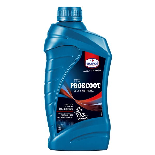 EUROL TTX Proscoot semi synthetic - low smoke 1 litre