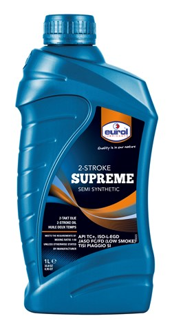 EUROL : Supreme semi synthetic - low smoke - 1 litre