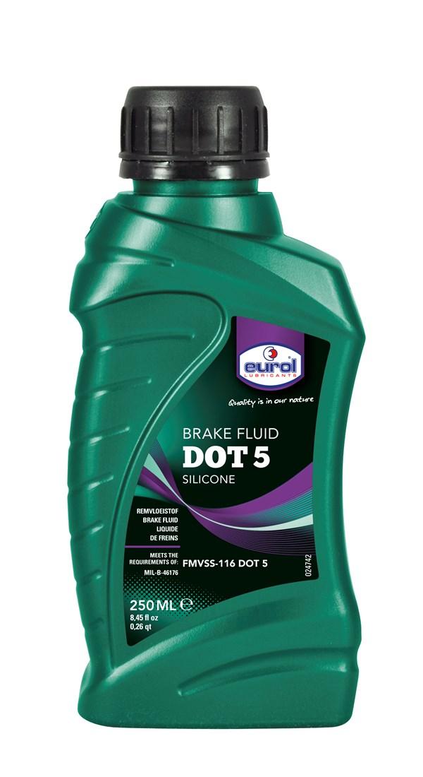 EUROL Remvloeistof DOT5 Silicone 250ml