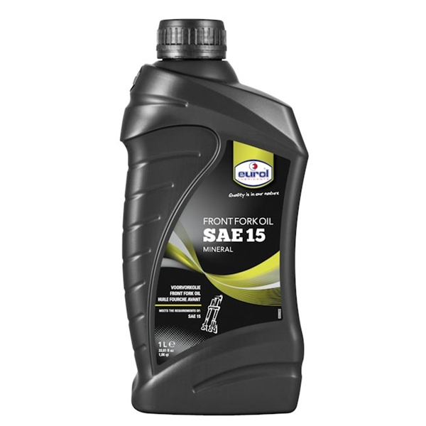 EUROL SAE15 huile de fourche 1L