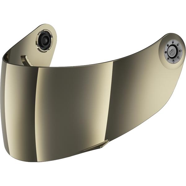 SHARK Visière VZ6XXX Or métallique