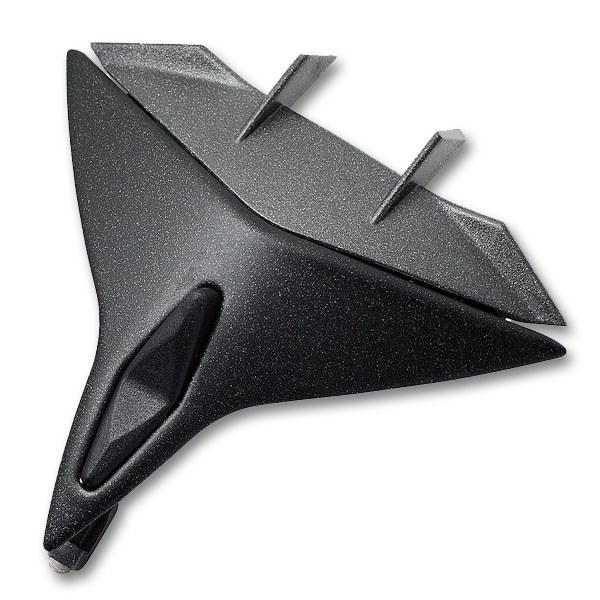 SHARK Openline Ventilation mentonnière Noir mat