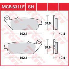 TRW Plaquettes de frein métal fritté SRM MCB631SRM