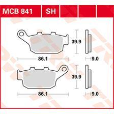 TRW Standaard remblokken MCB841