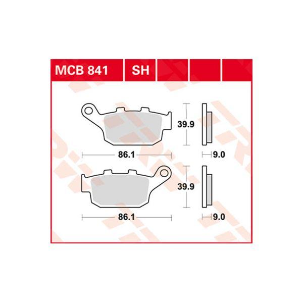 TRW SV/SH Remblokken MCB841SH