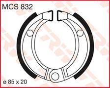 TRW Mâchoires de freins MCS832