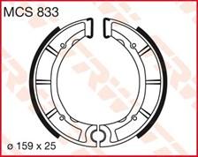 TRW Mâchoires de freins MCS833