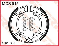 TRW Mâchoires de freins MCS915