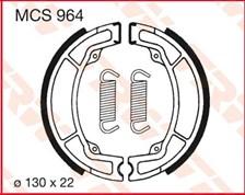 TRW Mâchoires de freins MCS964