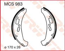 TRW Mâchoires de freins MCS983