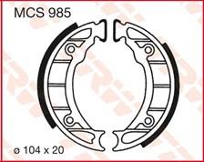 TRW Mâchoires de freins MCS985