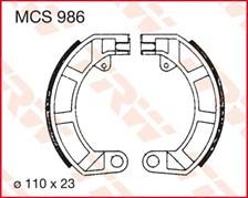TRW Mâchoires de freins MCS986