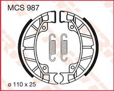 TRW Mâchoires de freins MCS987