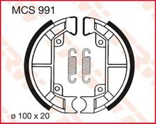 TRW Mâchoires de freins MCS991
