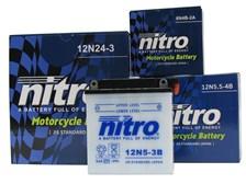 NITRO Conventionele batterij 12N7-4A