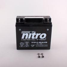 NITRO Gesloten batterij onderhoudsvrij 51913 SEALED