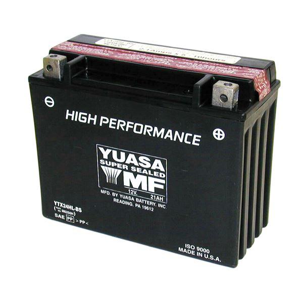 yuasa batterie sans entretien haute performance ytx24hl bs. Black Bedroom Furniture Sets. Home Design Ideas