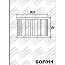 CHAMPION Filtre à huile interne COF011