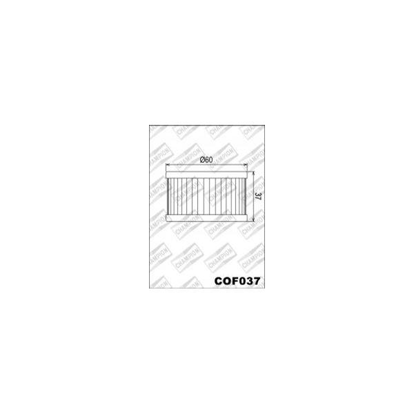 CHAMPION Filtre à huile interne COF037