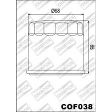 CHAMPION Filtre à huile externe - Noir COF038
