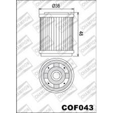 CHAMPION Filtre à huile interne COF043