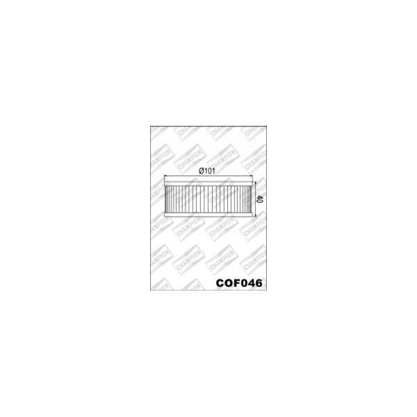 CHAMPION Filtre à huile interne COF046