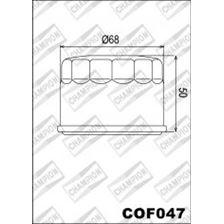 CHAMPION Filtre à huile externe - Noir COF047