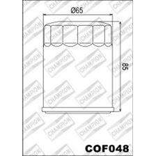 CHAMPION Filtre à huile externe - Noir COF048