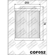 CHAMPION Inwendige oliefilter COF052