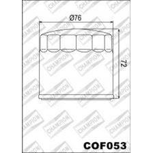 CHAMPION Uitwendige oliefilter - Zwart COF053