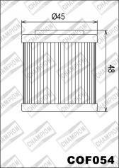 CHAMPION Filtre à huile interne COF054