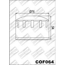 CHAMPION Filtre à huile externe - Noir COF064
