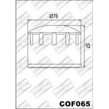 CHAMPION Filtre à huile externe - Noir COF065