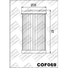 CHAMPION Filtre à huile interne COF069