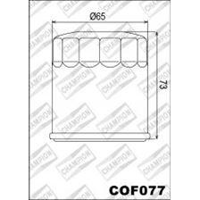 CHAMPION Filtre à huile externe - Noir COF077