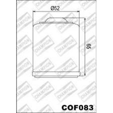 CHAMPION Filtre à huile externe - Noir COF083