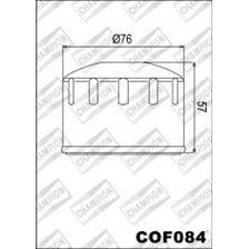 CHAMPION Filtre à huile externe - Noir COF084