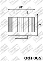 CHAMPION Filtre à huile interne COF085