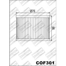 CHAMPION Filtre à huile interne COF301