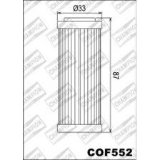 CHAMPION Filtre à huile interne COF552
