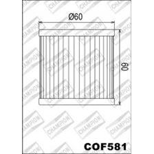 CHAMPION Filtre à huile interne COF581