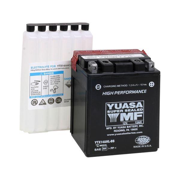 YUASA Onderhoudsvrije batterij high power YTX14AHL-BS