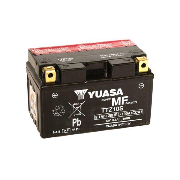 YUASA Batterie fermée avec pack acide TTZ10S-BS
