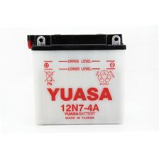 YUASA Conventionele batterij 12N7-4A