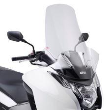 GIVI Verhoogd transparant windscherm - ST D1109ST