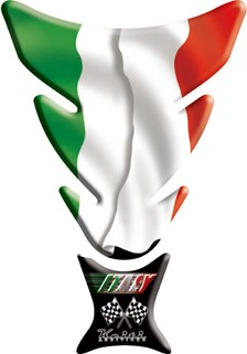KEITI  Protège réservoir Italy flag