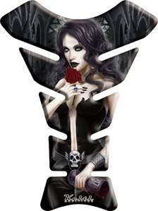 KEITI  Protège réservoir Bloodthirsty rose