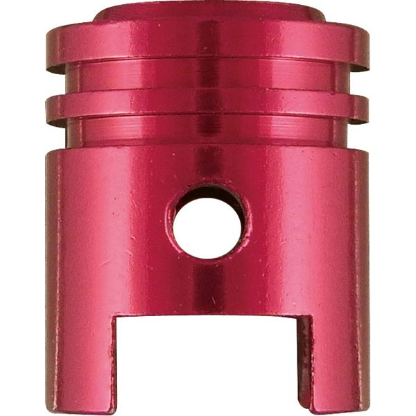 KEITI Bouchon de valve Rouge